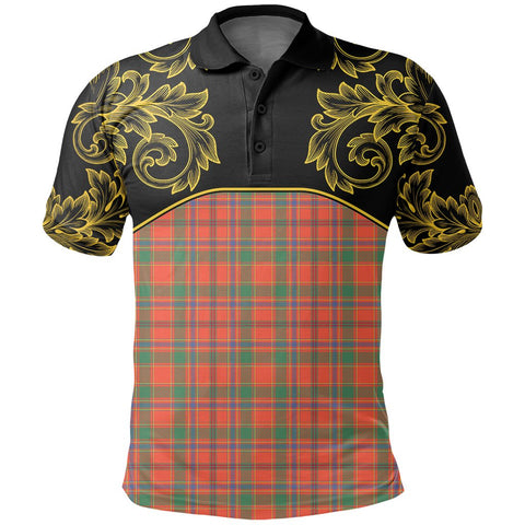 Image of Munro Ancient Tartan Clan Crest Polo Shirt - Empire I - HJT4 - Scottish Clans Store - Tartan Clans Clothing - Scottish Tartan Shopping - Clans Crest - Shopping In scottishclans - Polo Shirt For You