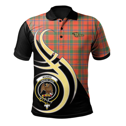 Munro Ancient Clan Believe In Me Polo Shirt