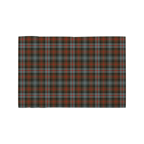 Murray of Atholl Weathered Clan Tartan Motorcycle Flag