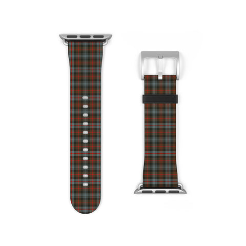 Murray of Atholl Weathered Scottish Clan Tartan Watch Band Apple Watch
