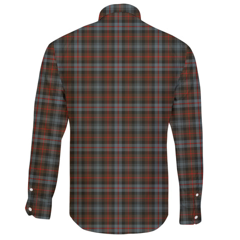 Murray of Atholl Weathered Tartan Clan Long Sleeve Button Shirt A91