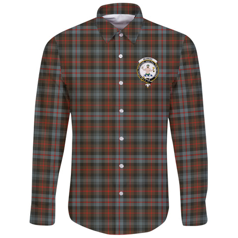 Murray of Atholl Weathered Tartan Clan Long Sleeve Button Shirt | Scottish Clan
