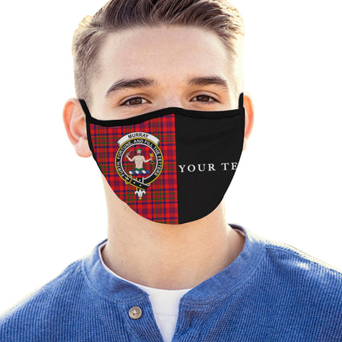 Murray of Tulloch Modern Tartan Mouth Mask The Half (Custom) Th88