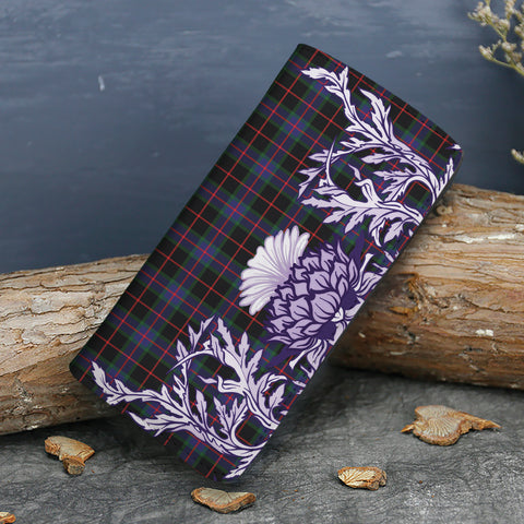Nairn Tartan Wallet Women's Leather Thistle A91