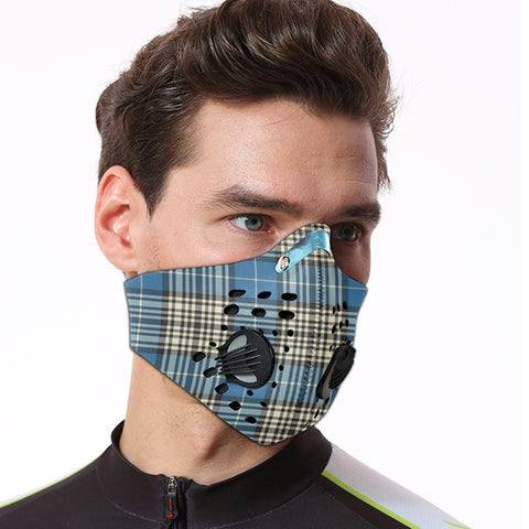 Napier Ancient Tartan Dust-proof Sports Masks ( Model 1) - TH88 (USA Shipping Line)