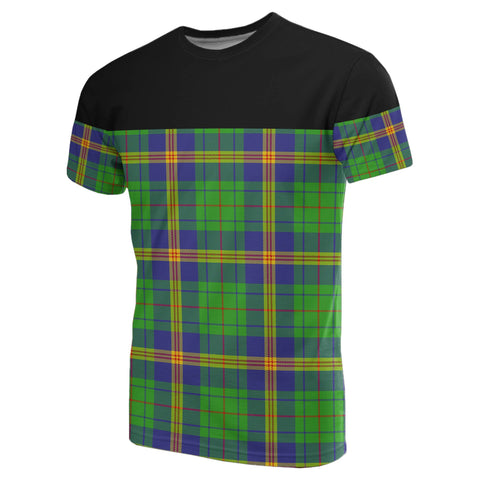 Tartan Horizontal T-Shirt - New Mexico