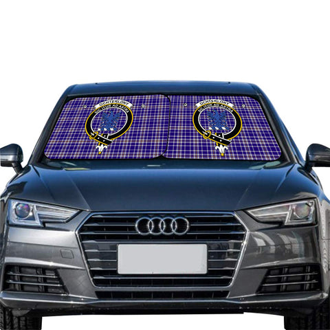 Ochterlony Clan Crest Tartan Scotland Car Sun Shade 2pcs