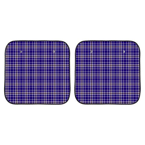 Ochterlony Clan Tartan Scotland Car Sun Shade 2pcs K7