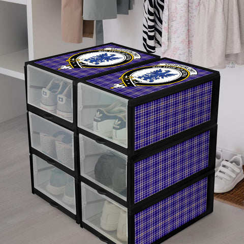 Ochterlony Clan Crest Tartan Scottish Shoe Organizers K9