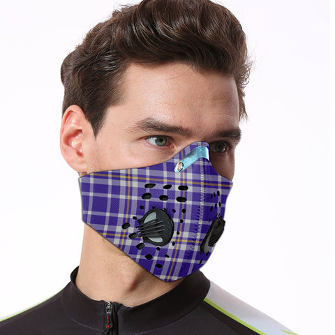 Ochterlony Tartan Dust-proof Sports Masks ( Model 1) - TH88 (USA Shipping Line)