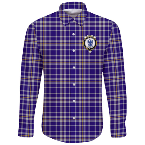 Ochterlony Tartan Clan Long Sleeve Button Shirt | Scottish Clan