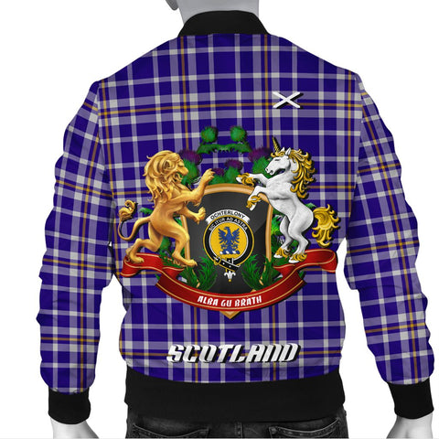 Ochterlony | Tartan Bomber Jacket | Scottish Jacket | Scotland Clothing