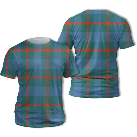 Agnew Ancient Tartan All Over Print T-Shirt | Scottishclans.co