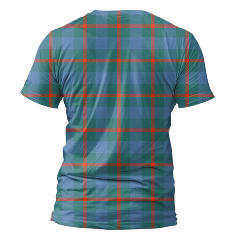 Image of Agnew Ancient Tartan All Over Print T-Shirt K7