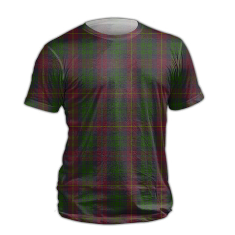 Cairns Tartan All Over Print T-Shirt K7