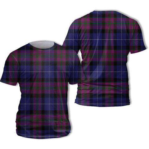 Pride of Scotland Tartan All Over Print T-Shirt | Scottishclans.co