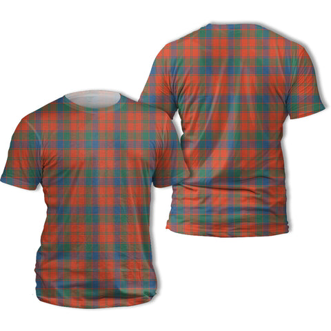 Robertson Ancient Tartan All Over Print T-Shirt | Scottishclans.co