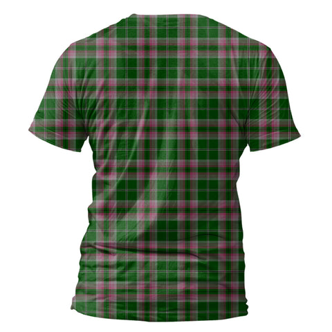 Image of Gray Hunting Tartan All Over Print T-Shirt K7