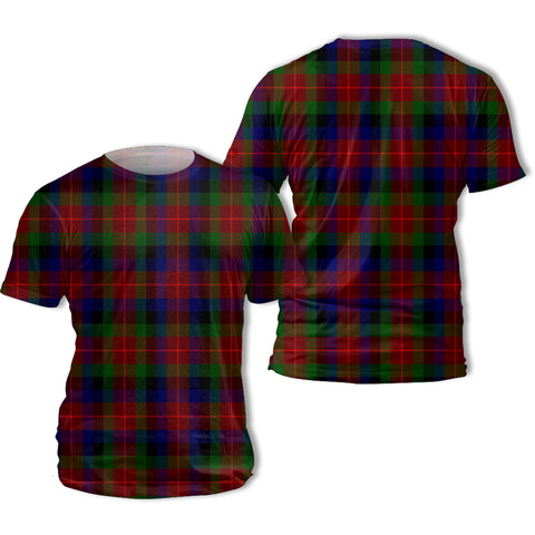 Tennant Tartan All Over Print T-Shirt | Scottishclans.co