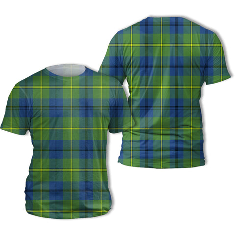 Image of Johnston Ancient Tartan All Over Print T-Shirt | Scottishclans.co