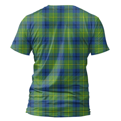 Image of Johnston Ancient Tartan All Over Print T-Shirt K7