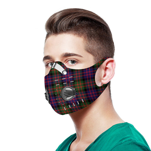 MacDonald Modern Tartan Dust-proof Sports Masks N95