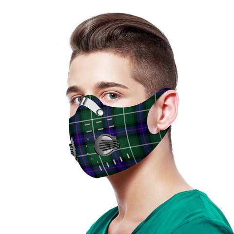 MacDonald of the Isles Hunting Modern Tartan Dust-proof Sports Masks N95