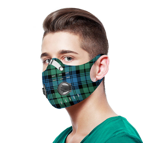 Campbell Ancient 01 Tartan Dust-proof Sports Masks