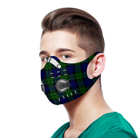 Campbell Modern Tartan Dust-proof Sports Masks