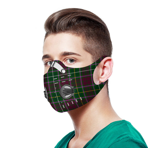 Crosbie Tartan Dust-proof Sports Masks