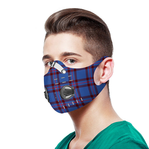 Elliot Modern Tartan Dust-proof Sports Masks