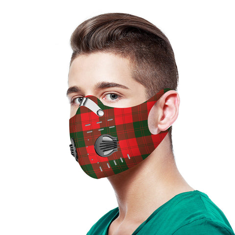 Erskine Modern Tartan Dust-proof Sports Masks