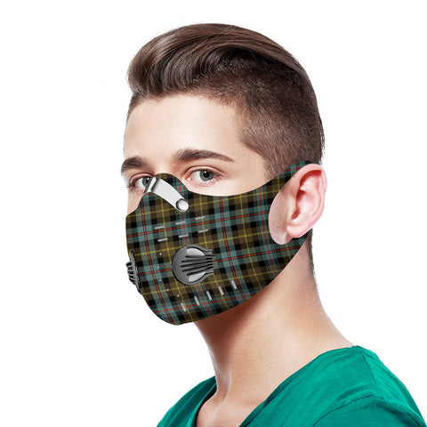Farquharson Weathered Tartan Dust-proof Sports Masks