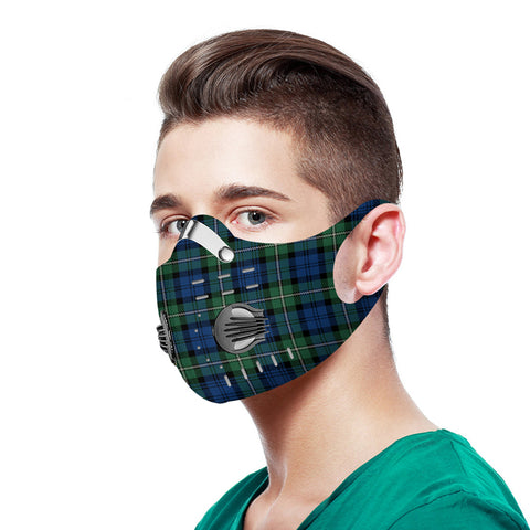 Forbes Ancient Tartan Dust-proof Sports Masks