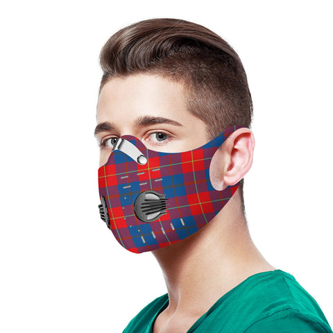 Galloway Red Tartan Dust-proof Sports Masks