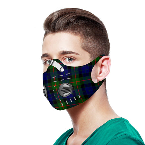 Gunn Modern Tartan Dust-proof Sports Masks N95
