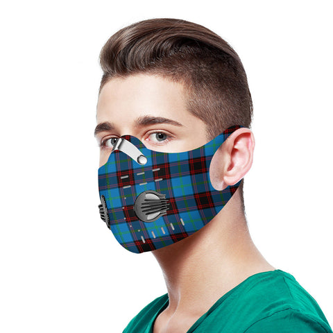 Home Ancient Tartan Dust-proof Sports Masks