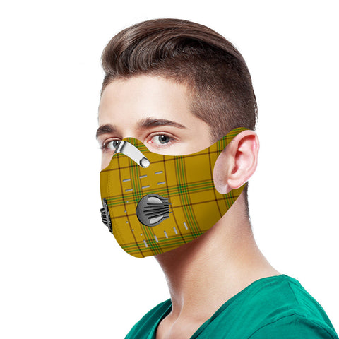 Houston Tartan Dust-proof Sports Masks