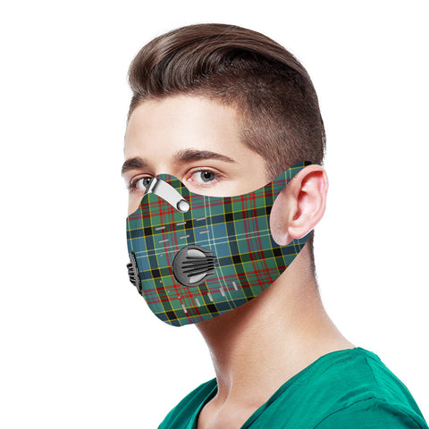 Paisley District Tartan Dust-proof Sports Masks