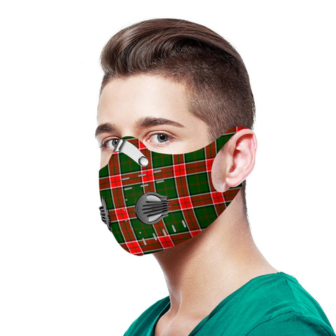 Pollock Modern Tartan Dust-proof Sports Masks