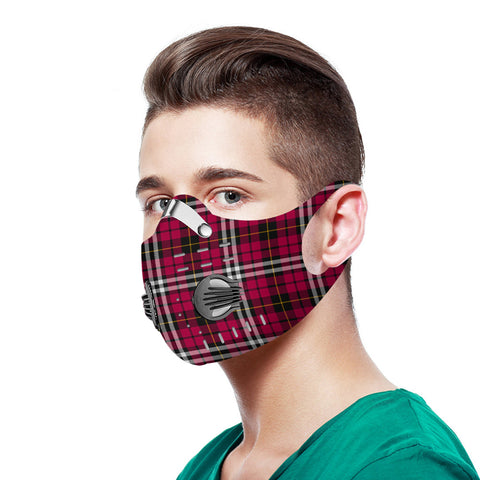 Little Tartan Dust-proof Sports Masks