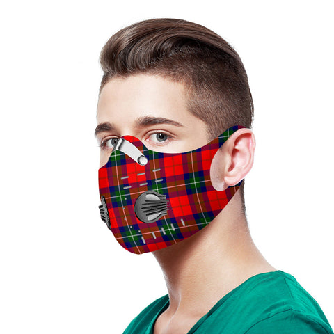 Ruthven Modern Tartan Dust-proof Sports Masks