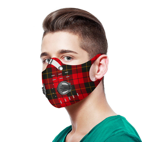 Wallace Weathered Tartan Dust-proof Sports Masks