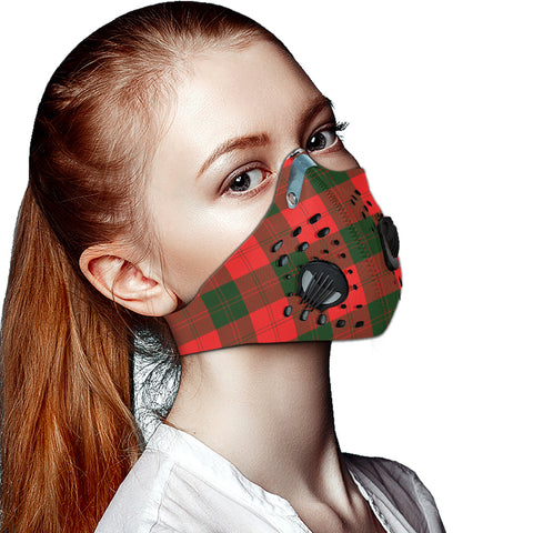 Erskine Modern Tartan Dust-proof Sports Masks ( Model 1) - TH88