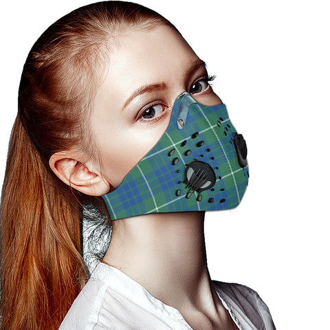 Image of Hamilton Hunting Ancient Tartan Dust-proof Sports Masks ( Model 1) - TH88