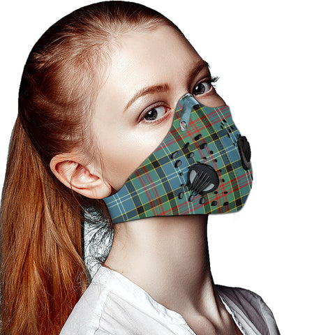 Paisley District Tartan Dust-proof Sports Masks ( Model 1) - TH88