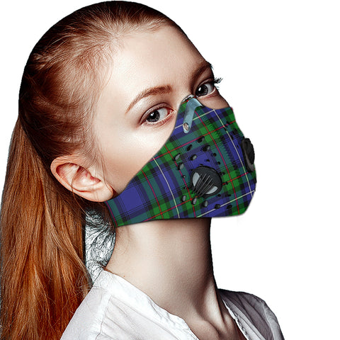 Robertson Hunting Modern Tartan Dust-proof Sports Masks ( Model 1) - TH88