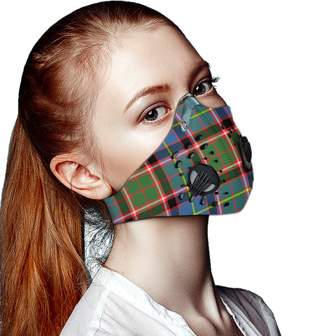 Stirling & Bannockburn District Tartan Dust-proof Sports Masks ( Model 1) - TH88