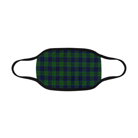 Hannay Modern Clan Badge Tartan Mouth Mask K76