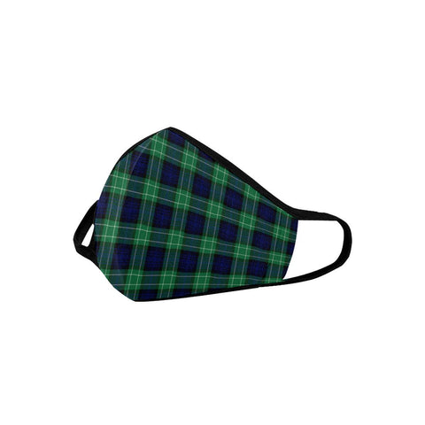 Image of Abercrombie Tartan Mouth Mask Inner Pocket K6 (Combo)